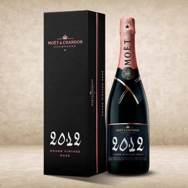 Moet & Chandon Grand Vintage Rosè 2012 coffret