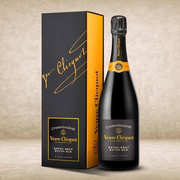 Veuve Clicquot Extra Brut Extra Old Edition 2 coffret