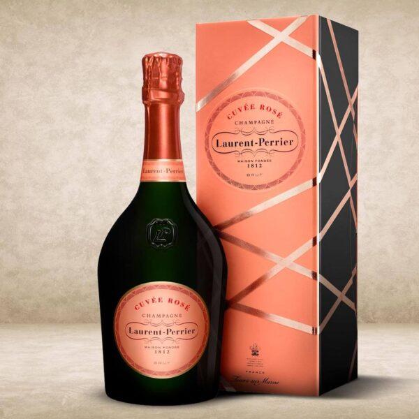 Laurent-Perrier Cuvée Rosé coffret