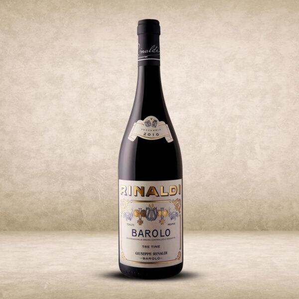 Rinaldi Barolo Tre Tine 2010